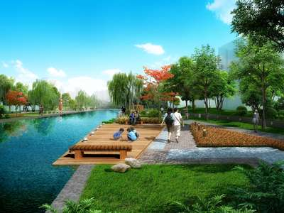 生态湖畔-青青游园