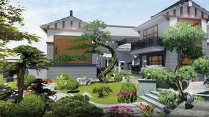 1380平方-王总私家别墅花园