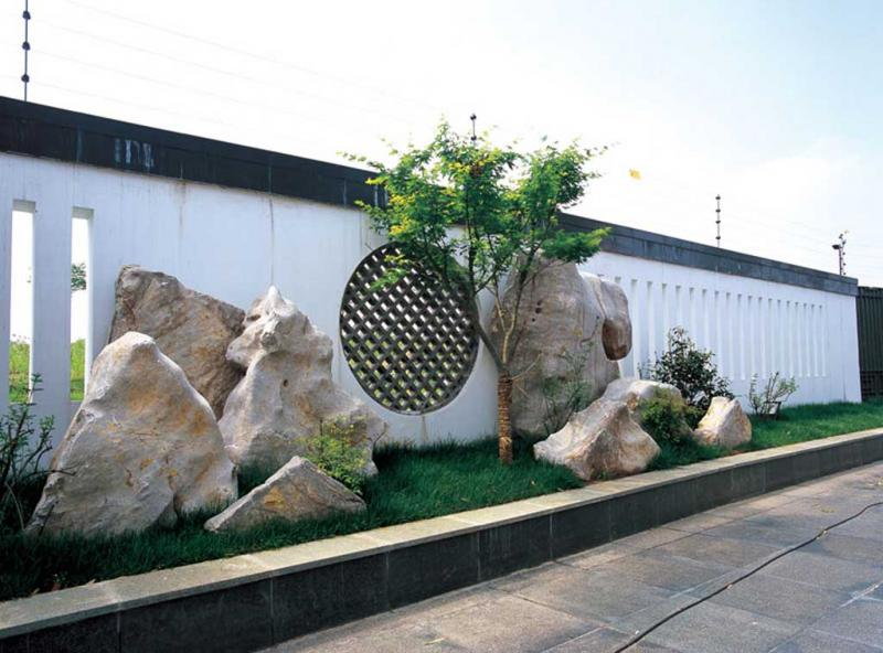 中式园林游客中心快题设计手绘