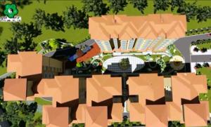 金沙线上送98元-首页-房地产楼盘景观设计施工(安合花园)