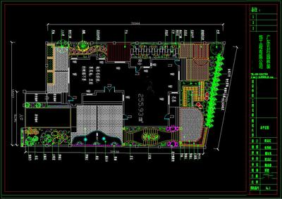私人别墅总平面图